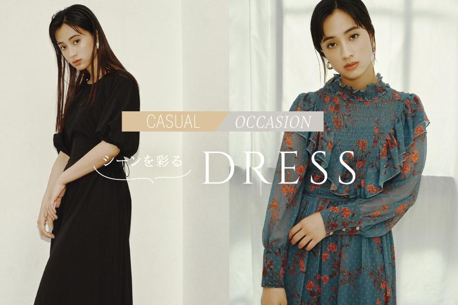 Dress_オケージョンワンピース