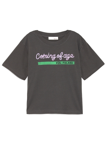 スパンコールTシャツ