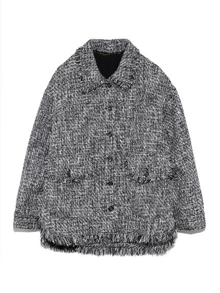 ツイードビッグジャケット