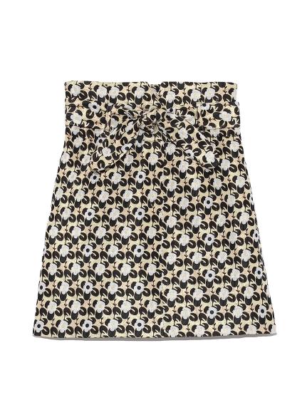 ジャガード台形スカート(GLD-0)