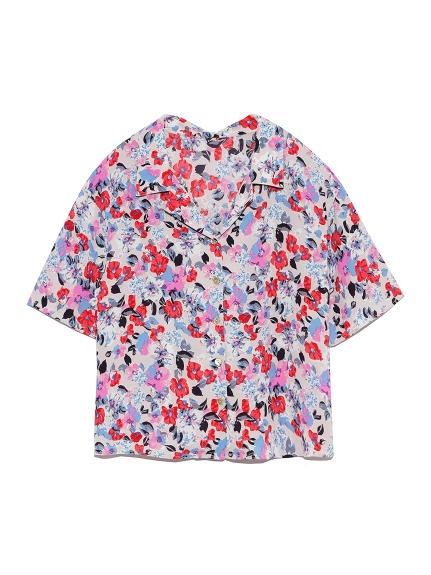 ヴィンテージフラワーシャツ(BEG-F)