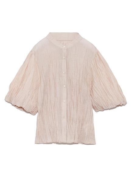 袖ボリューム半袖シャツ