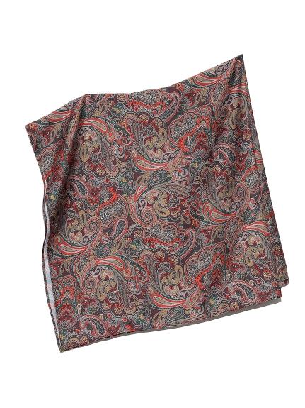 ペイズリー柄ビッグスカーフ