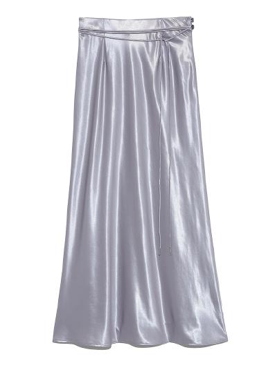 シャイニーロングスカート ¥10,800+tax
